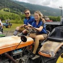 Daniela und ich bei der Alpentrophy