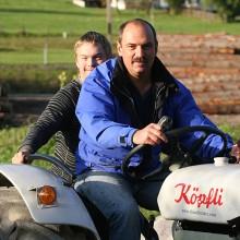 Papa und ich mit dem Köpfli