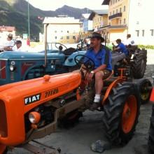 mein Papa mit seinem Fiat